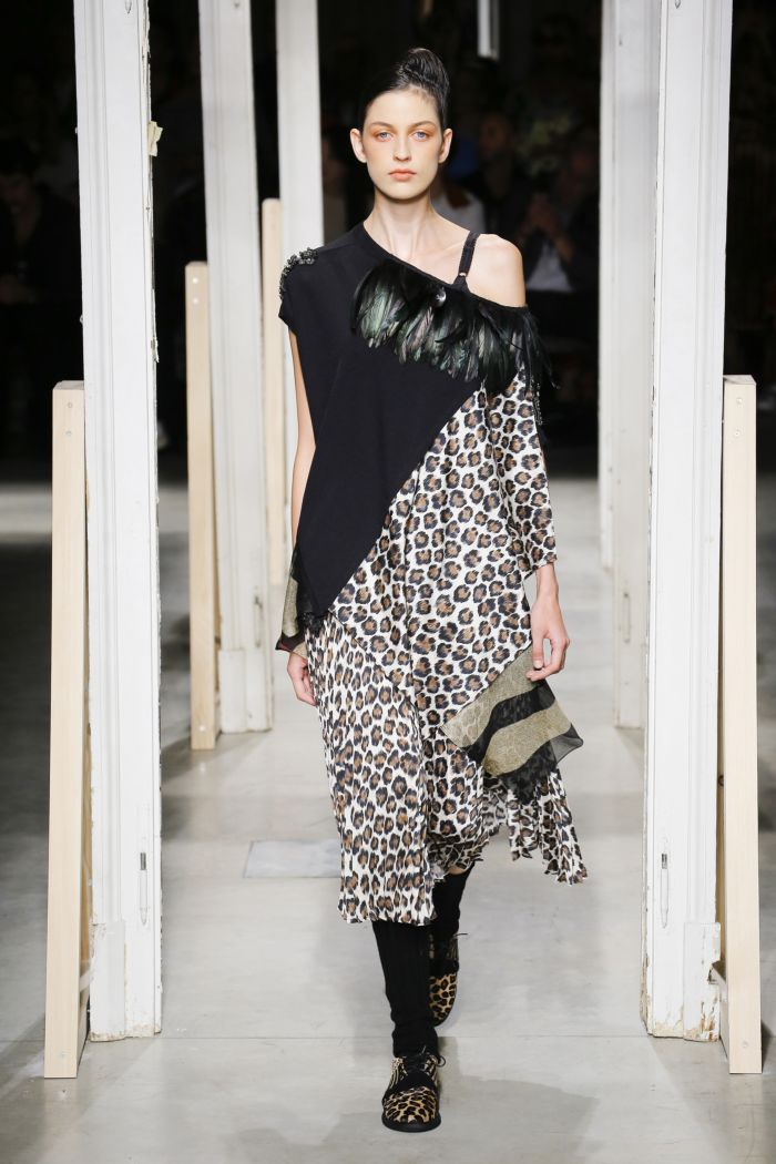 Модное леопардовое платье Antonio Marras