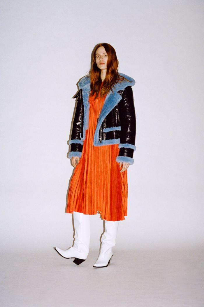 С чем носить оранжевое платье. Образ из новой коллекции Barbara Bui