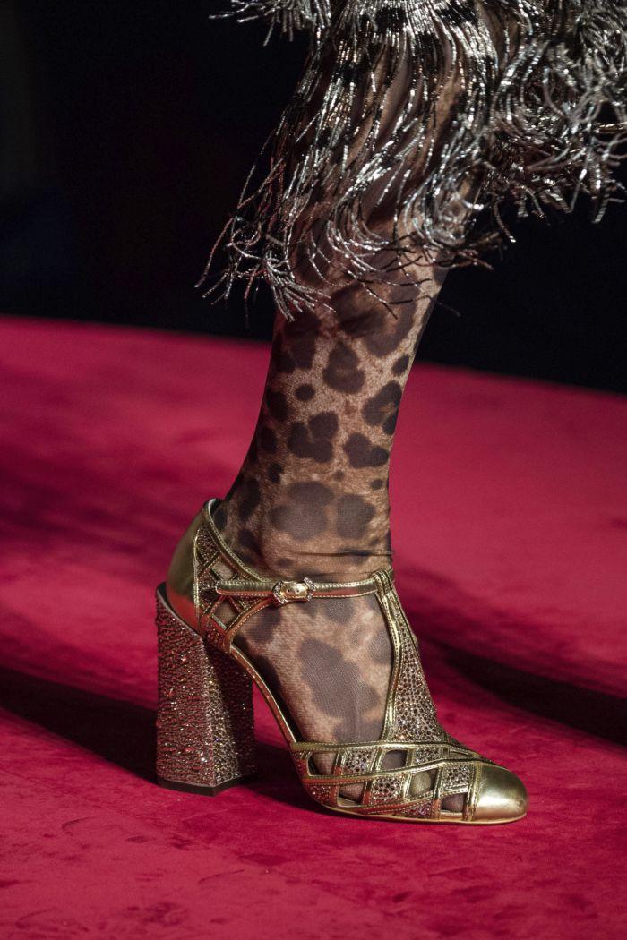 Обувь к леопардовому платью Dolce & Gabbana