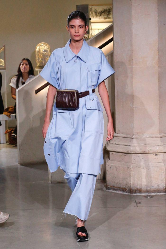Поясная сумка с платьем Eudon Choi