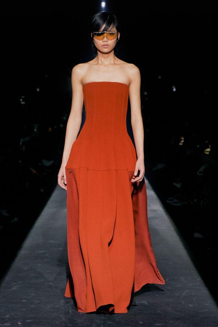 Вечернее розовое платье Givenchy