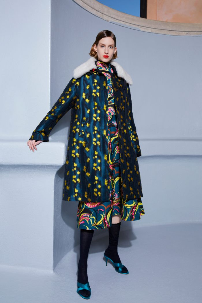 Модное бирюзовое платье La DoubleJ