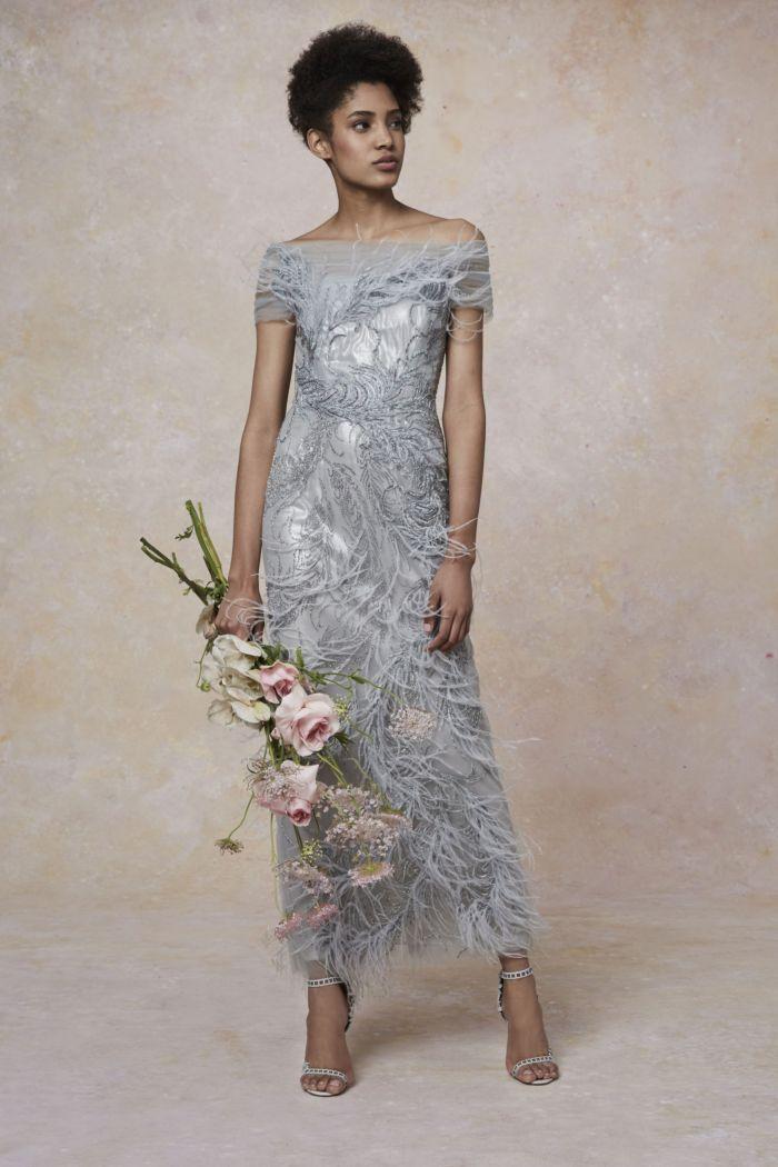 Вечернее платье Marchesa