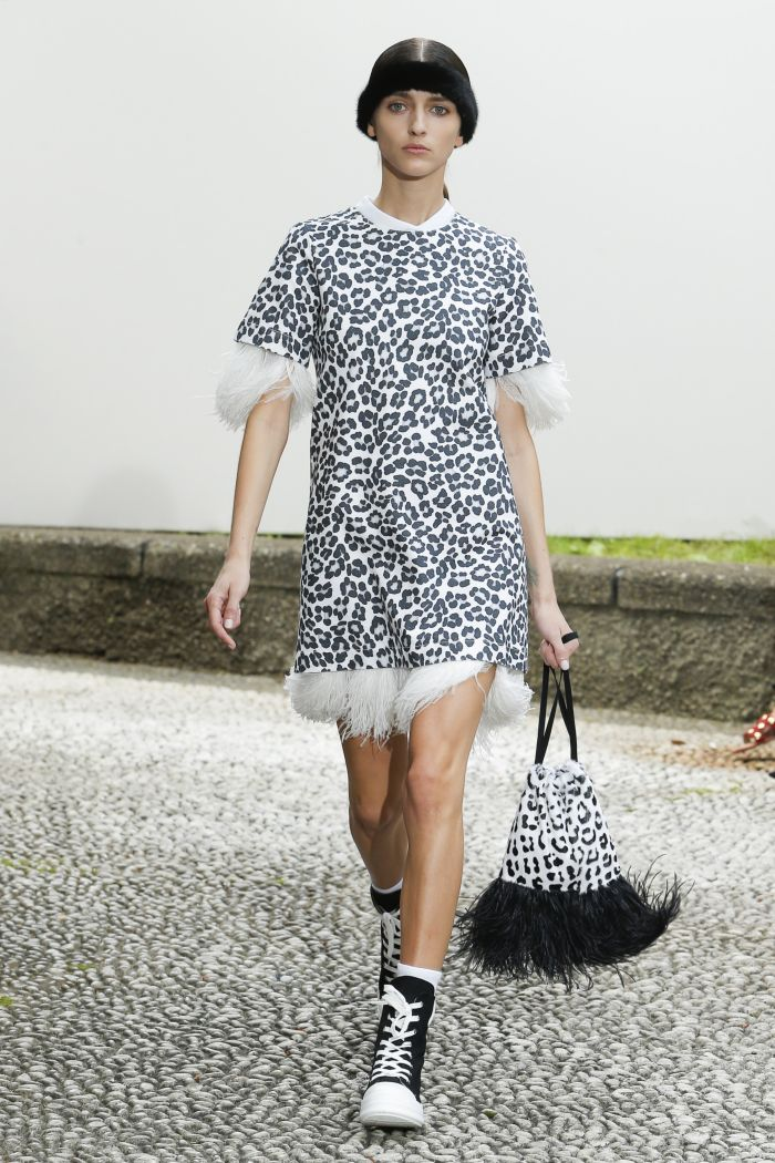 Обувь к леопардовому платью. Simonetta Ravizza