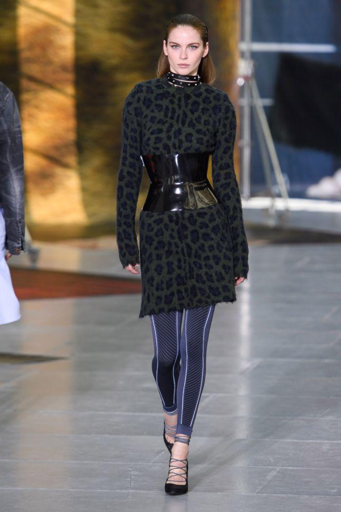 Модное леопардовое платье Unravel