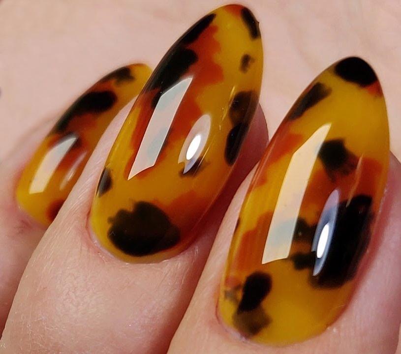 Новинка дизайна ногтей - Ацетатные ногти