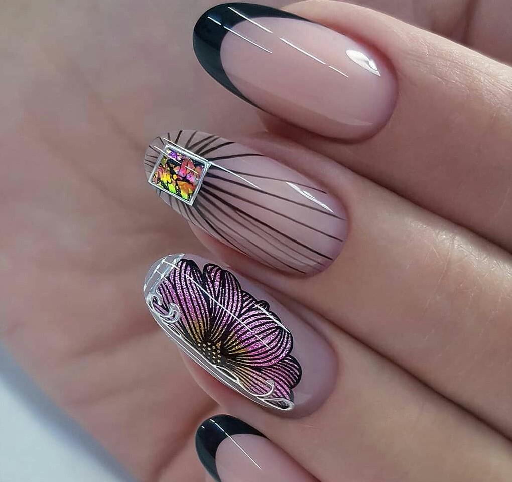 Новинка дизайна ногтей - стемпинг