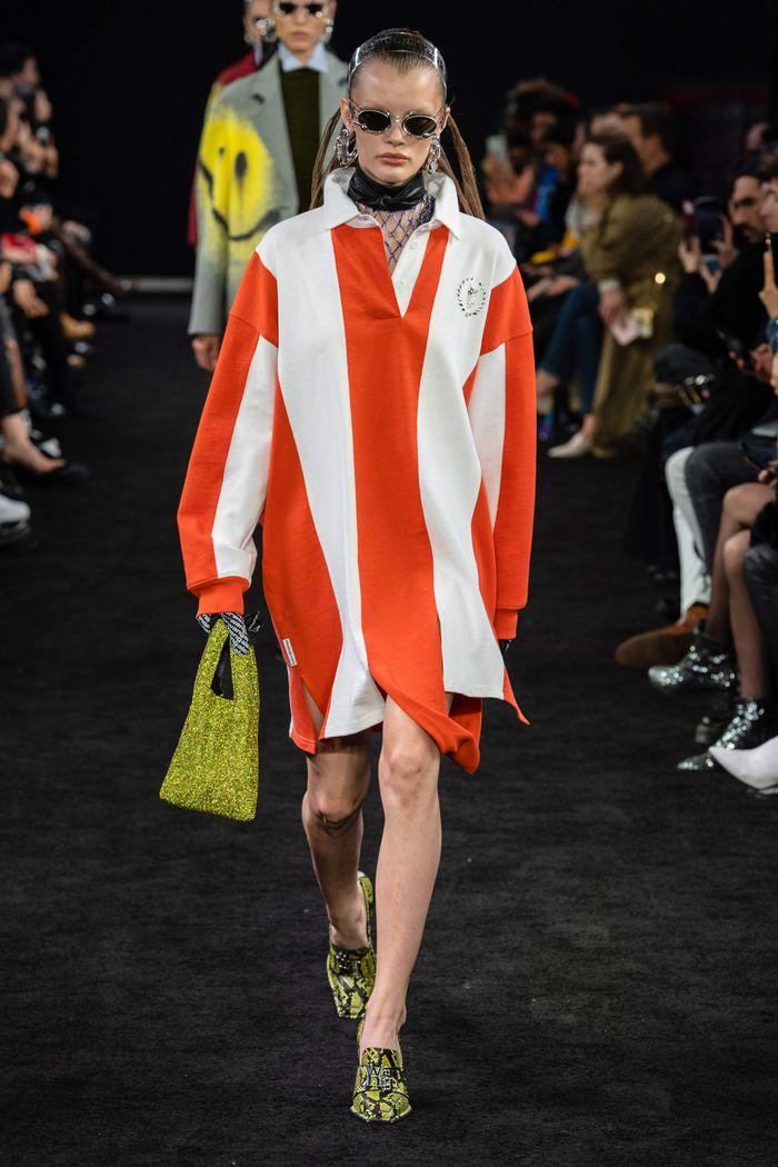 Спортивное платье-рубашка Alexander Wang