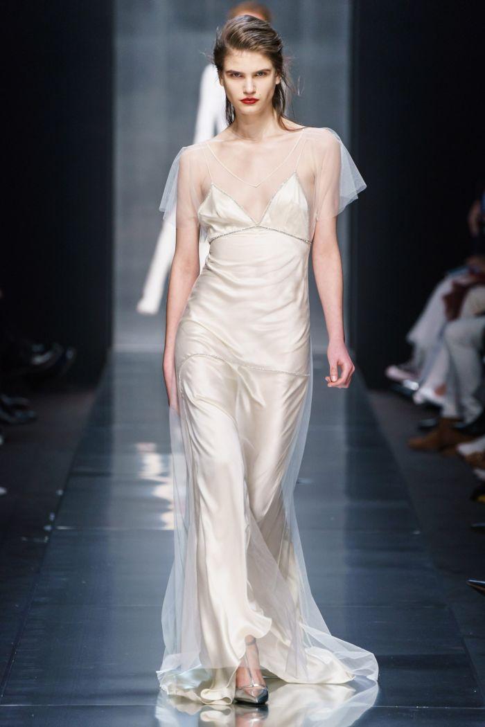 Вечернее платье-комбинация Ermanno Scervino