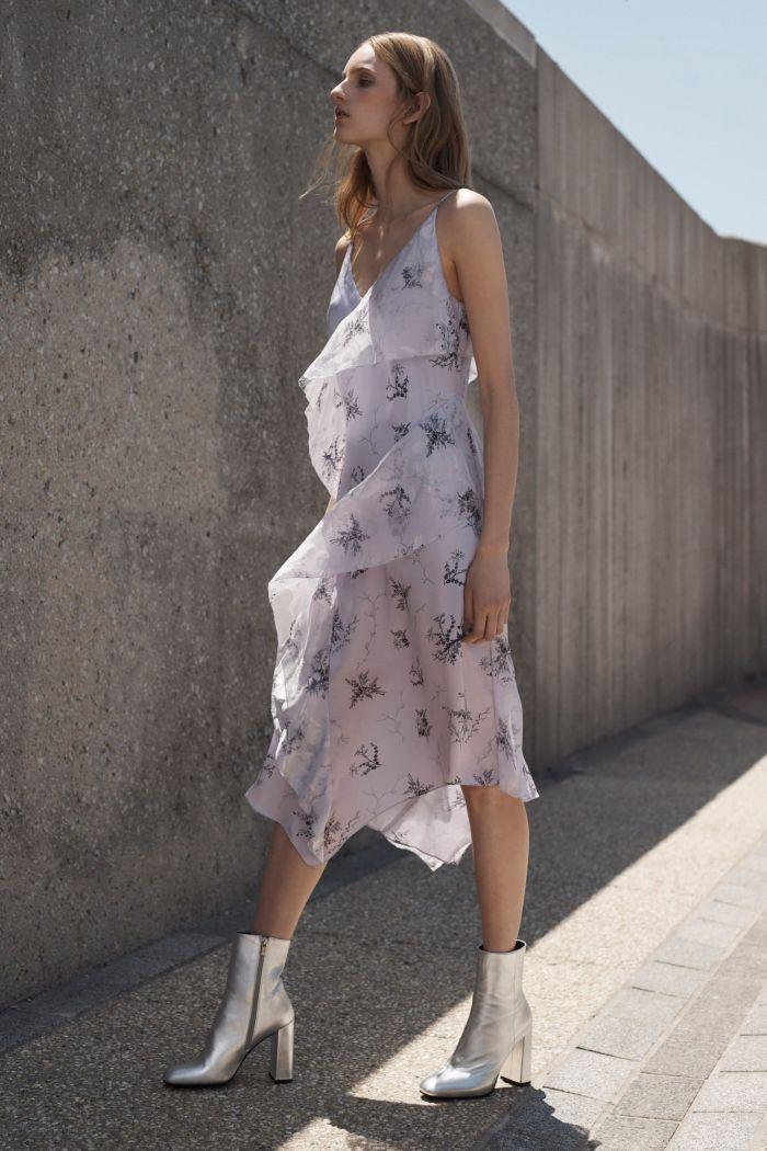 Модное летнее платье в бельевом стиле Grey Jason Wu