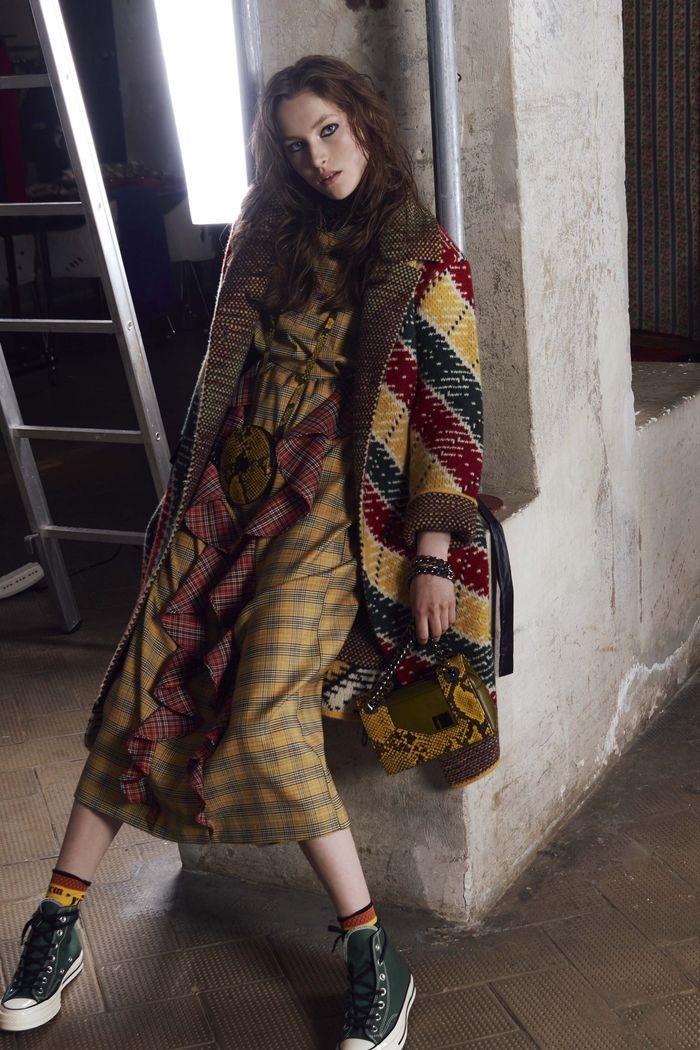 Коричневое платье I\'M Isola Marras