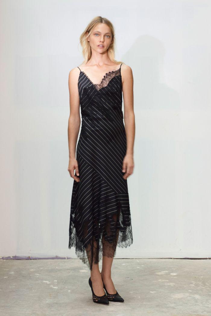 Платье-комбинация с кружевом Jason Wu Collection
