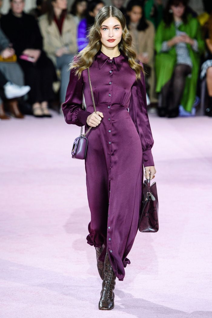 Модное фиолетовое платье Kate Spade