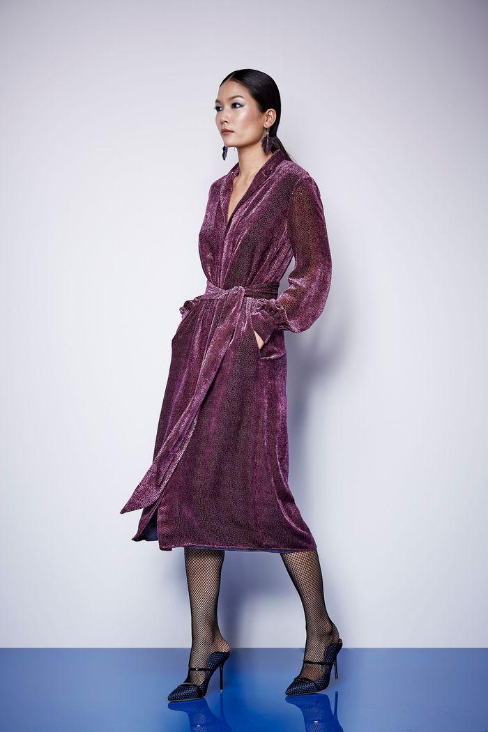 Модное фиолетовое платье Kimora Lee Simmons