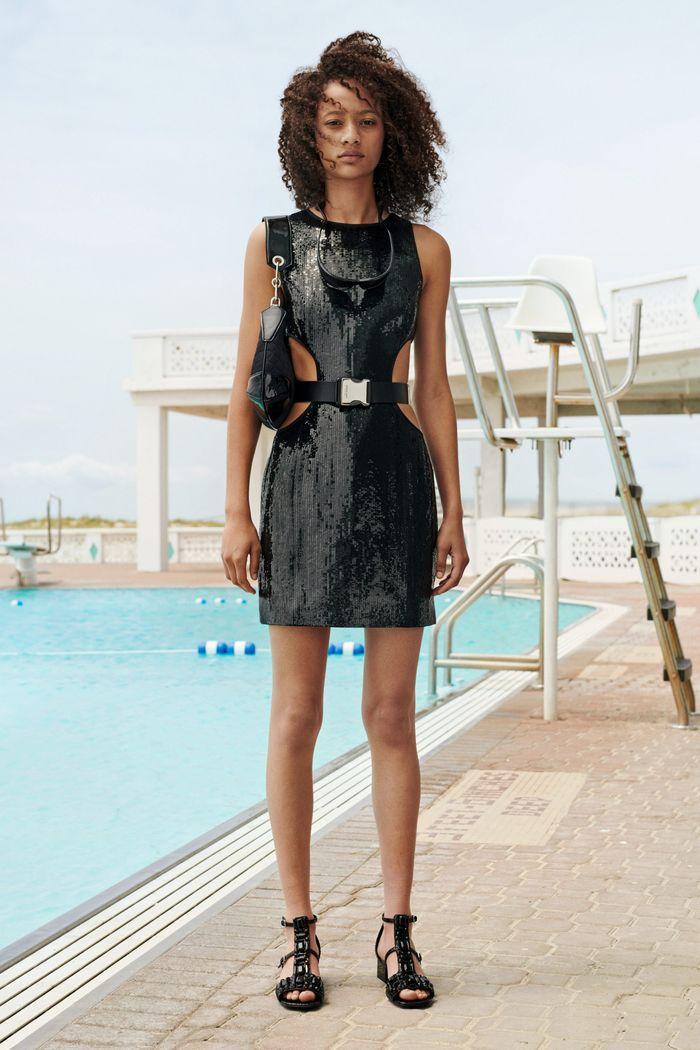 Блестящее платье Michael Kors Collection