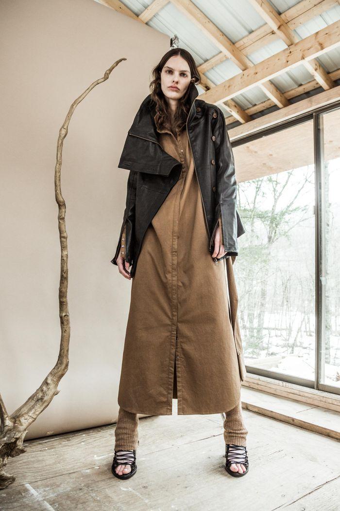 Коричневое платье Nicholas K