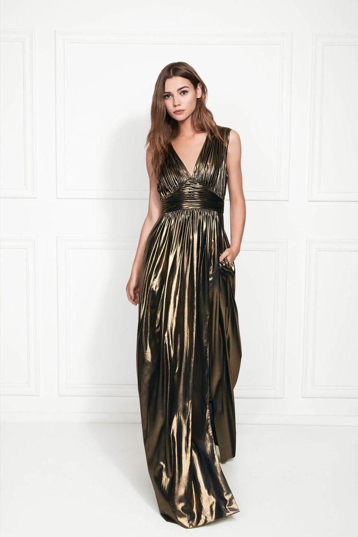 Вечернее блестящее платье Rachel Zoe