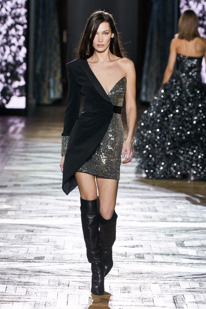 Блестящее платье-пиджак Redemption
