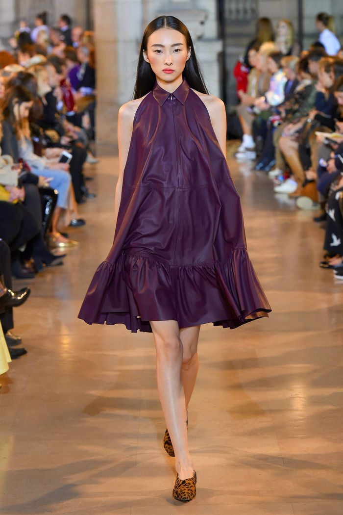 Короткое платье-рубашка Talbot Runhof