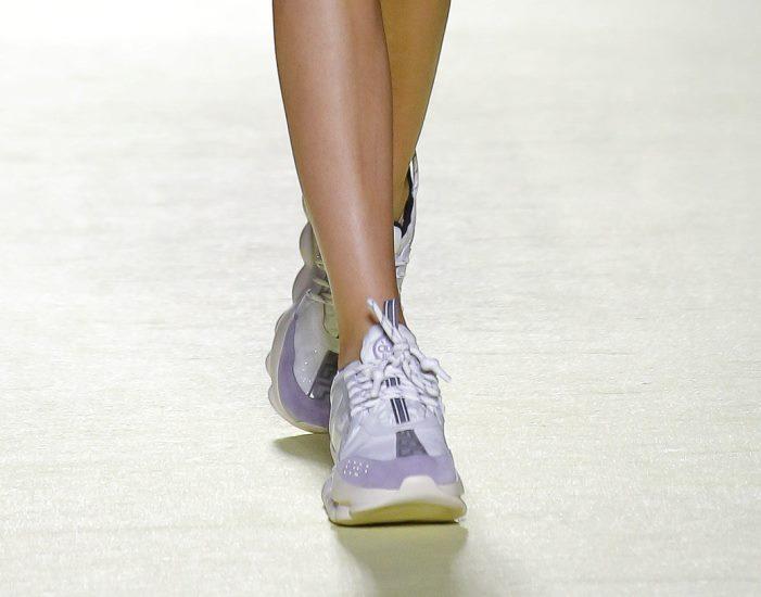 Обувь к сиреневому платью