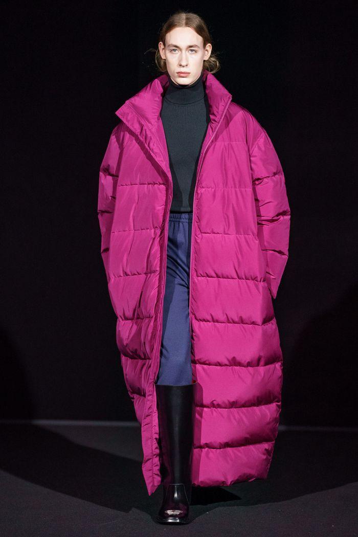 Модный пуховик осень-зима 2019-2020 Balenciaga