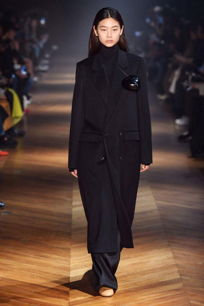 Модное длинное пальто осень-зима 2019-2020 из коллекции Beautiful People