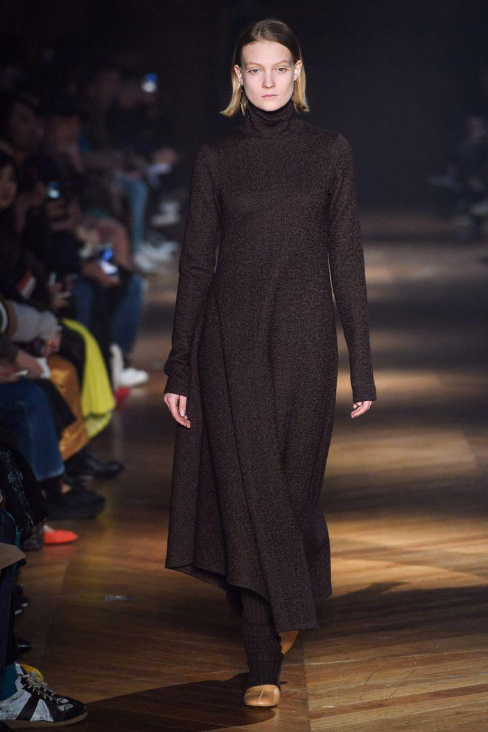 Модное длинное платье осень-зима из коллекции Beautiful People