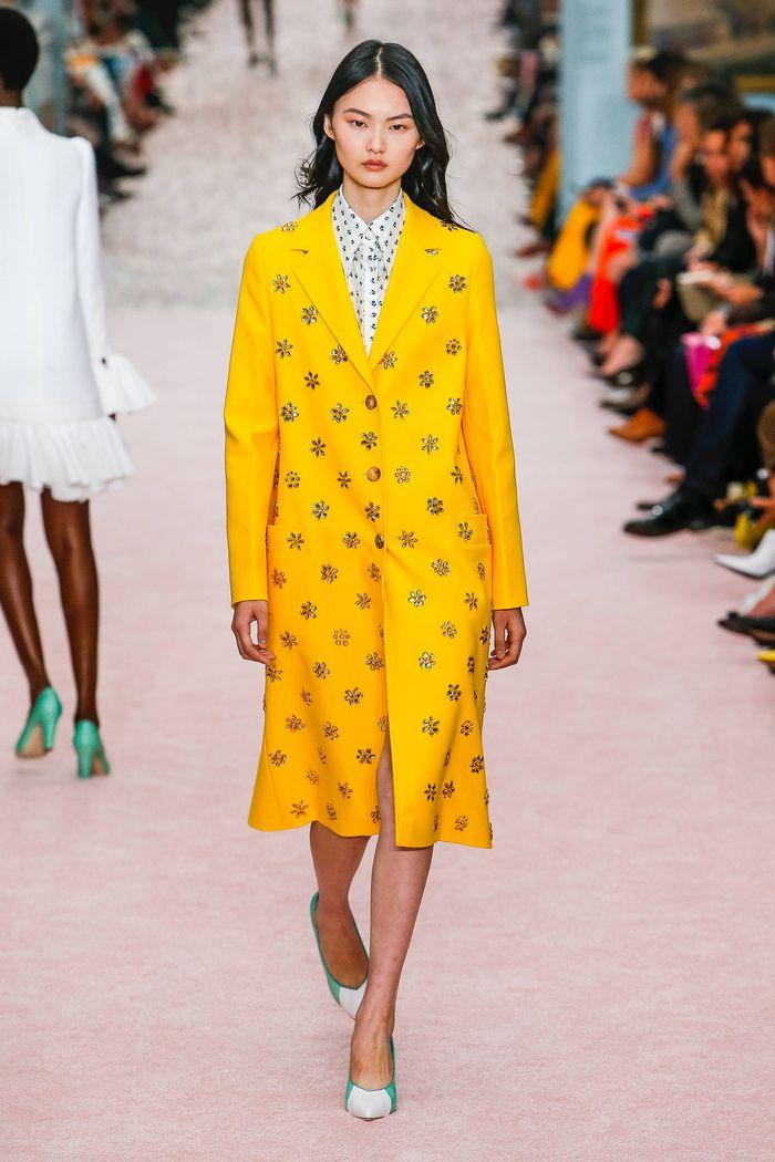 Модные цвета лето 2019. Коллекция Carolina Herrera