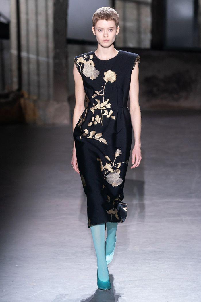 Модная одежда осень-зима 2019-2020 Dries Van Noten