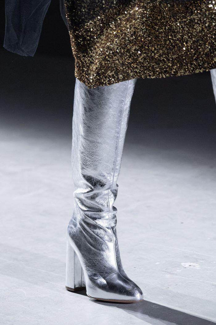 Модная обувь осень-зима 2019-2020 Dries Van Noten