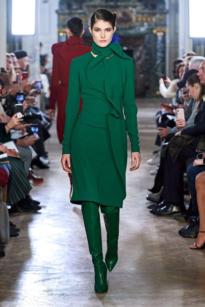 Модные цвета платьев осень-зима 2019-2020. Коллекция Elie Saab