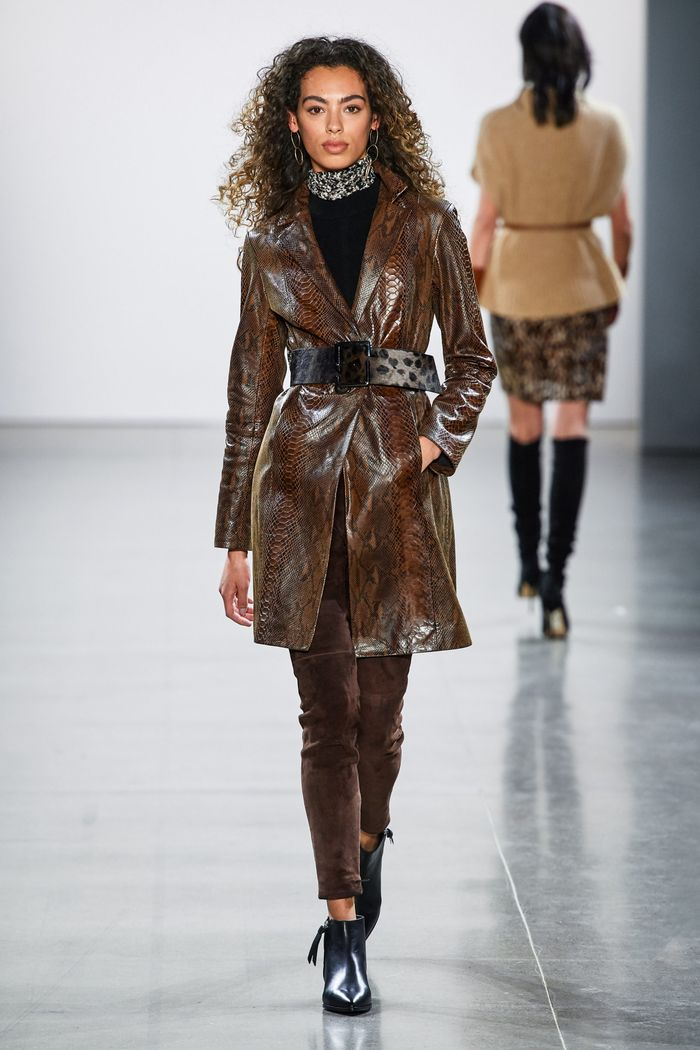 Модная одежда осень-зима 2019-2020 Elie Tahari