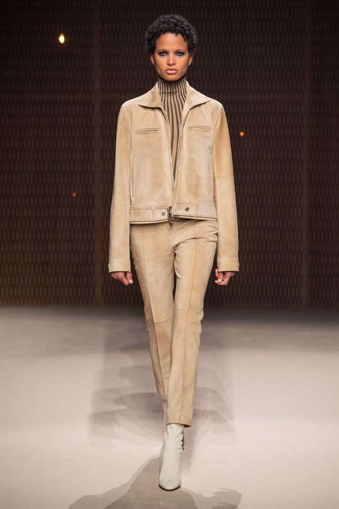 Модная одежда осень-зима 2019-2020 Hermès