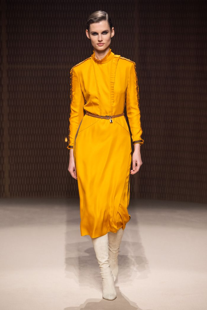 Модные цвета платьев осень-зима 2019-2020. Коллекция Hermès