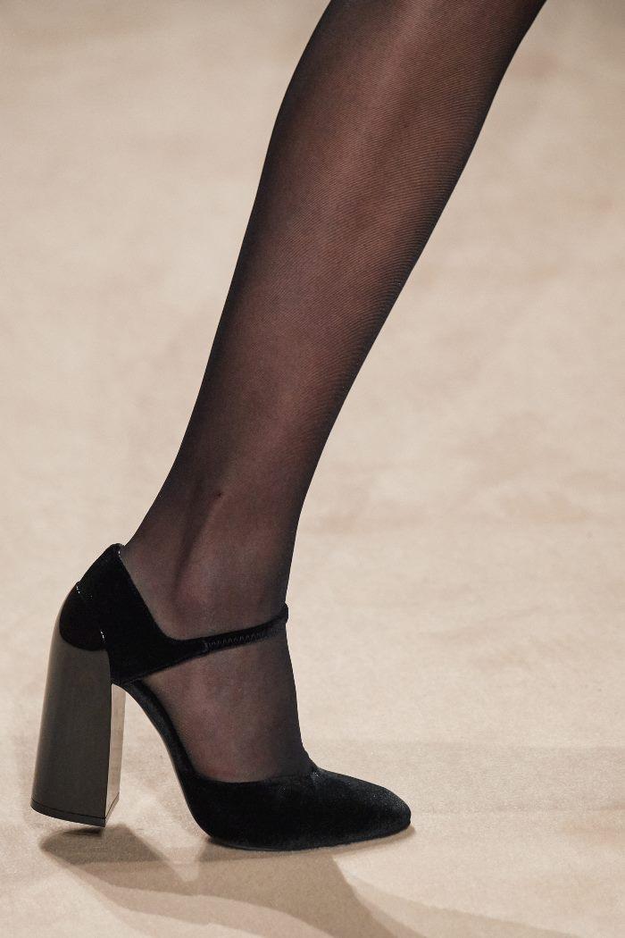 Обувь к бордовому платью. Коллекция Hermès