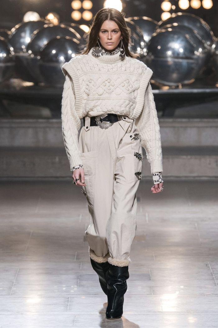 Модная одежда осень-зима 2019-2020 Isabel Marant