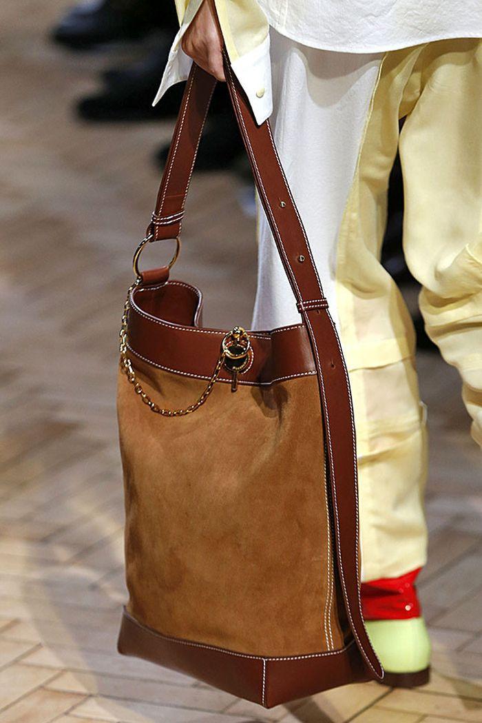 Модный цвет сумок на лето 2019. Коллекция JW Anderson
