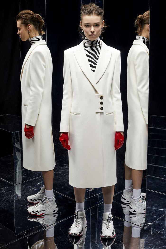 Модные цвета пальто. Just Cavalli