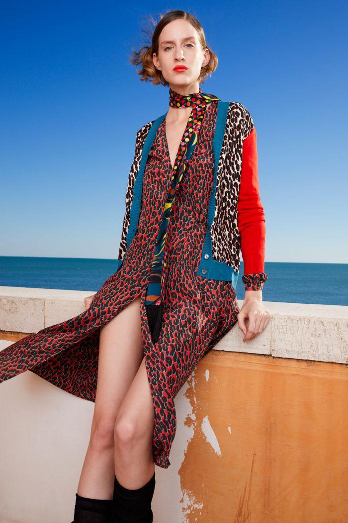 Бордовое платье из коллекции La DoubleJ