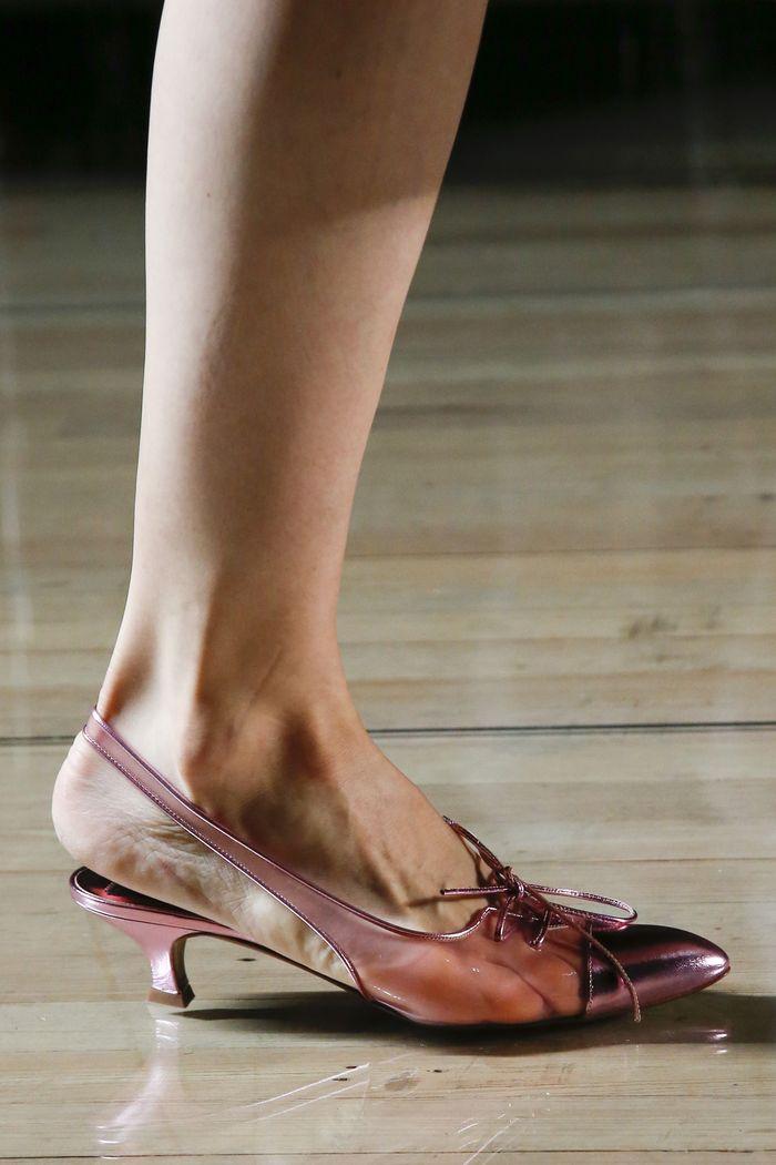 Модный цвет обуви. Коллекция Marc Jacobs