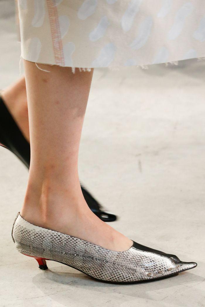 Модный цвет обуви. Коллекция Marni