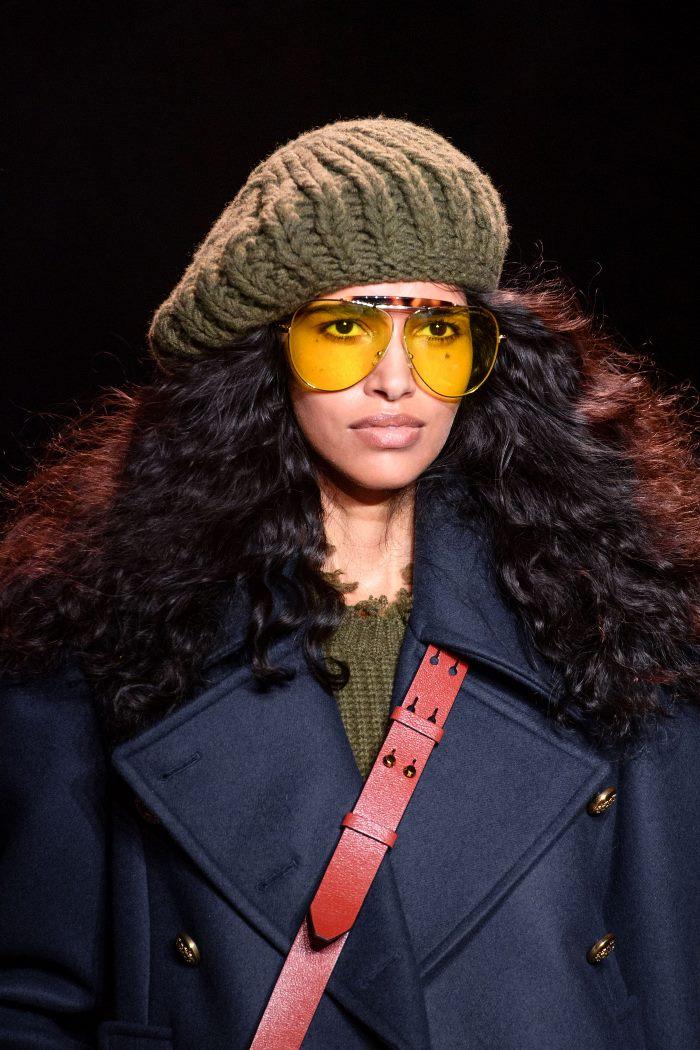 Модные головные уборы осень-зима 2019-2020 Michael Kors Collection