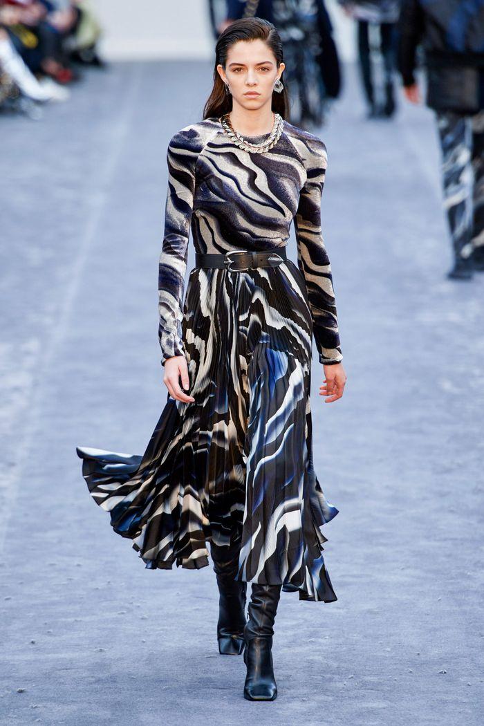 Черно-белое платье Roberto Cavall