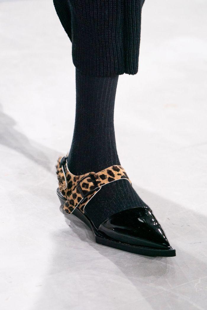 Модная обувь осень-зима 2019-2020 Sacai