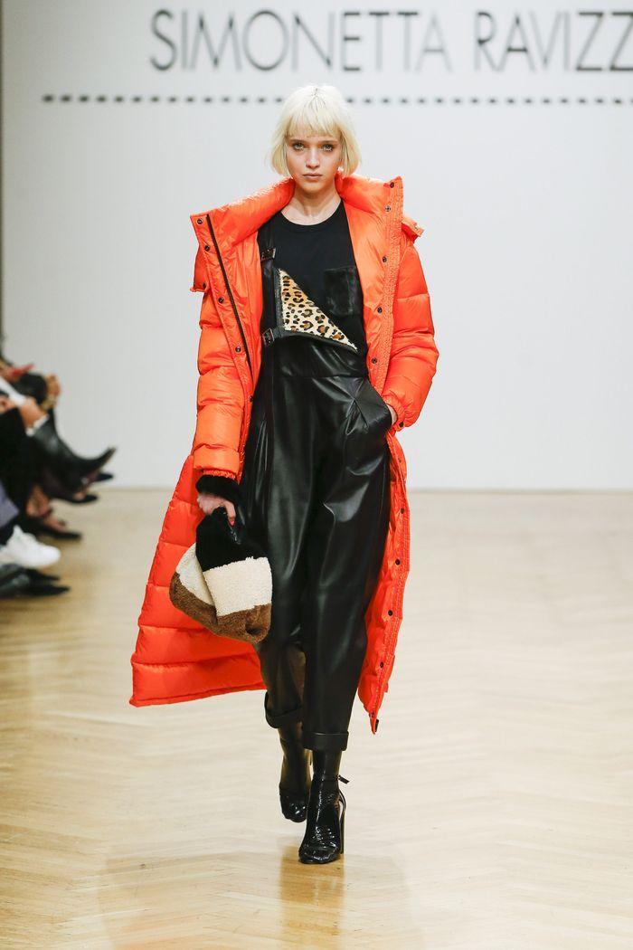 Модный пуховик осень-зима 2019-2020 Simonetta Ravizza