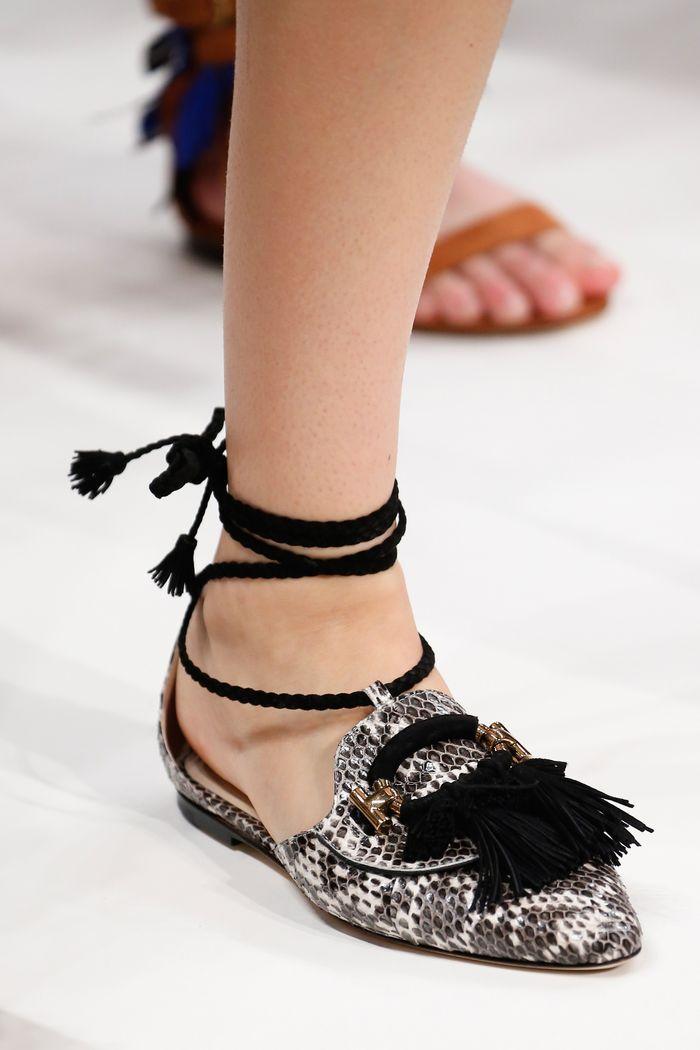 Модный цвет обуви. Коллекция Tod's