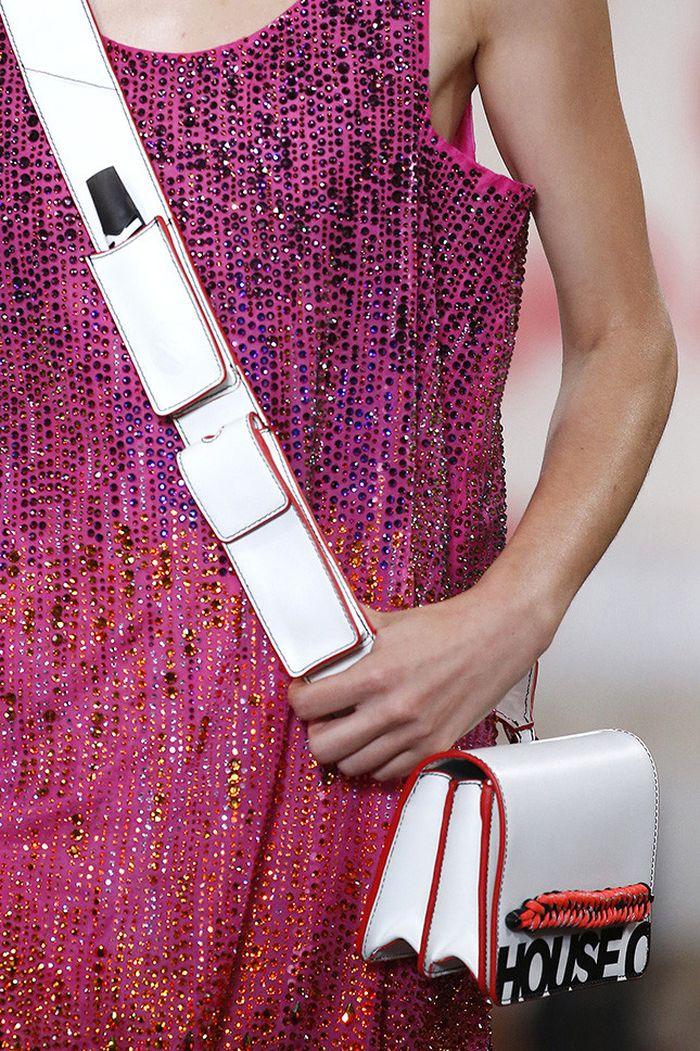 Модный цвет сумок на лето 2019. Коллекция House of Holland