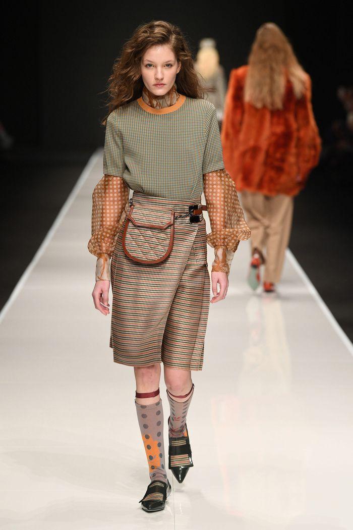 Модная юбка осень-зима 2019-2020 Anteprima