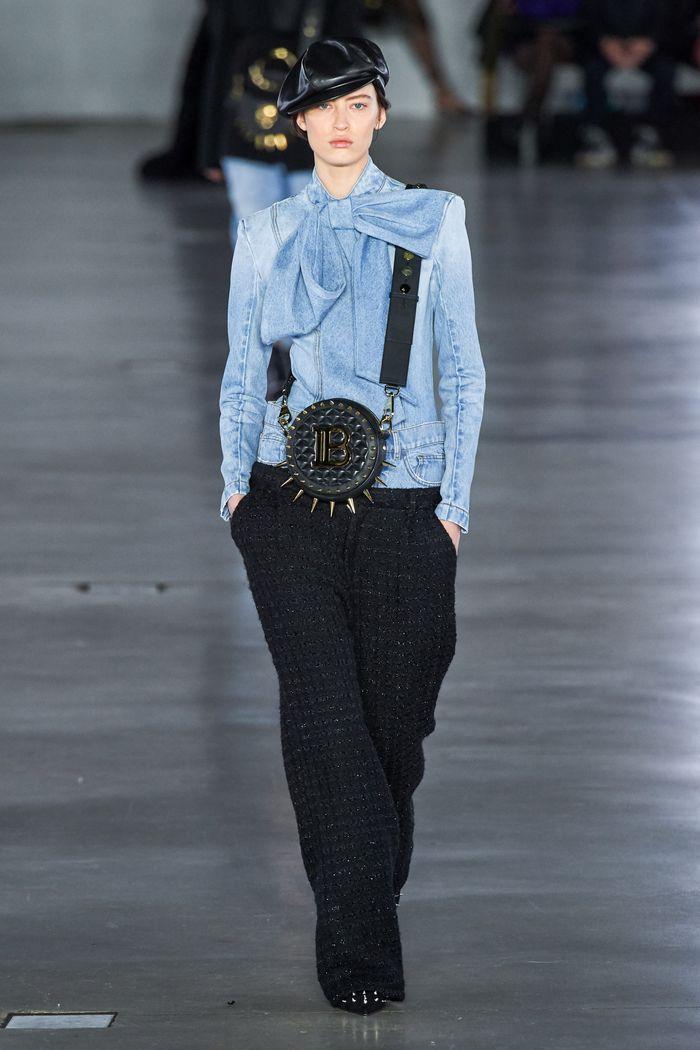 Модные брюки из твида осень-зима 2019-2020 из новой коллекции Balmain