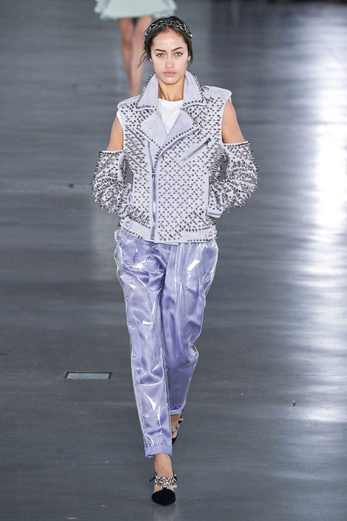 Модные брюки осень-зима 2019-2020 из новой коллекции Balmain